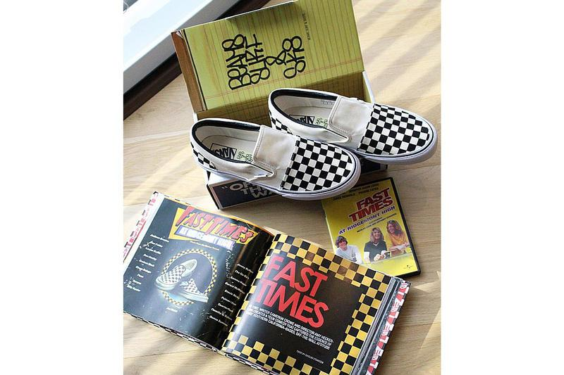 Vans x SSZ「2nd Time Slip-On Special」別註鞋款
