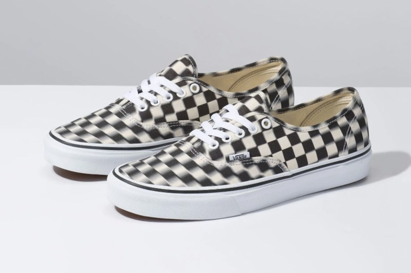 Vans Authentic 全新「Blur Check」配色