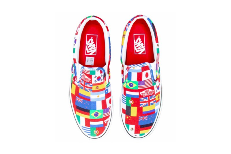 Vans Slip-On 全新「International Flags」別註配色登場