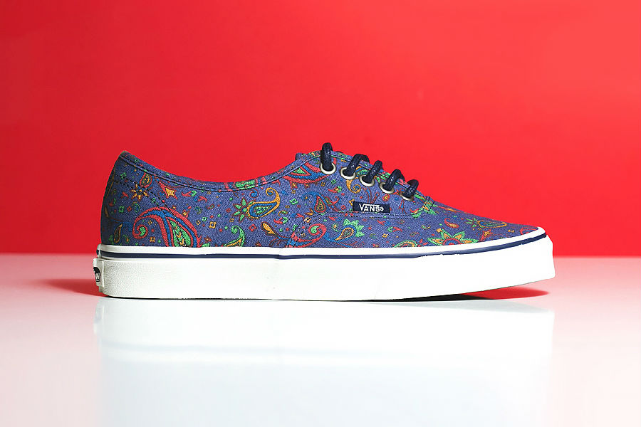 華麗佩斯利 Vans Authentic「Blue Paisley」