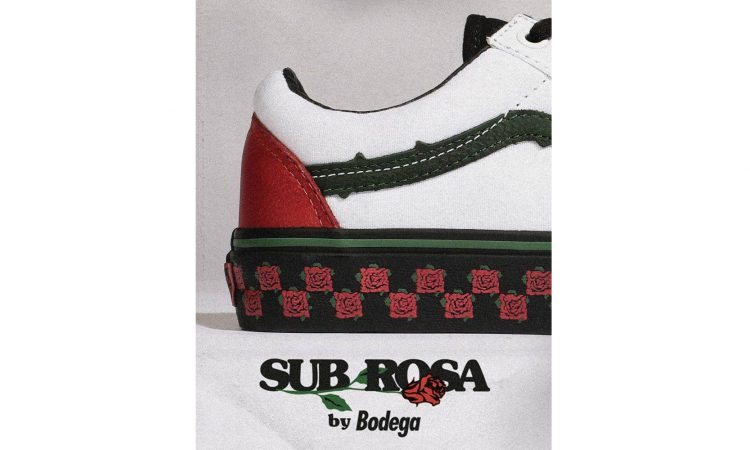 Bodega x Vans Vault 聯名 Old Skool「Sub Rosa」鞋款