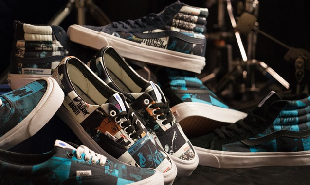 DQM x Vans x Blue Note Records 三方聯名鞋款系列